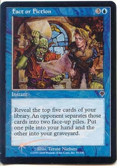 Magic the Gathering Invasion Single Fact or Fiction Foil
