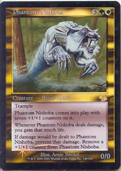 Magic the Gathering Judgment Single Phantom Nishoba Foil