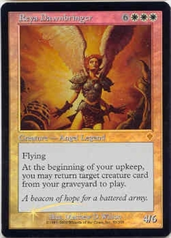 Magic the Gathering Invasion Single Reya Dawnbringer Foil