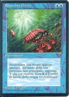 Magic the Gathering Legends Single Mana Drain Italian UNPLAYED (NM/MT)