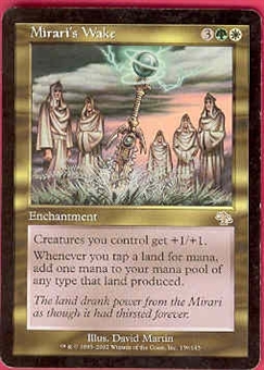 Magic the Gathering Judgment Single Mirari's Wake - MODERATE PLAY (MP)