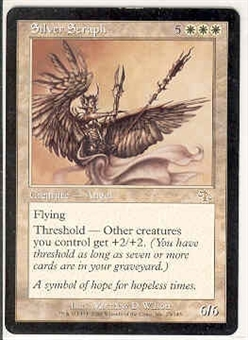 Magic the Gathering Judgment Single Silver Seraph - NEAR MINT (NM)