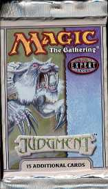 Magic the Gathering Judgment Booster Pack - BURNING WISH !!!