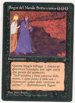 Magic the Gathering Legends Single Underworld Dreams Italian - NEAR MINT (NM)