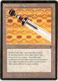 Magic the Gathering Legends Single Sword of the Ages - NEAR MINT (NM)