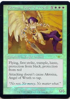 Magic the Gathering Legions Single Akroma, Angel of Wrath Foil