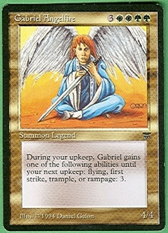 Magic the Gathering Legends Single Gabriel Angelfire - NEAR MINT (NM)
