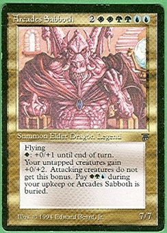 Magic the Gathering Legends Single Arcades Sabboth LIGHT PLAY (NM)