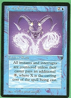 Magic the Gathering Legends Single In the Eye of Chaos - NEAR MINT (NM)