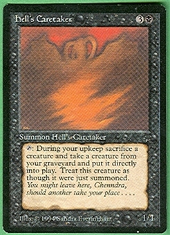 Magic the Gathering Legends Single Hell's Caretaker UNPLAYED (NM/MT)