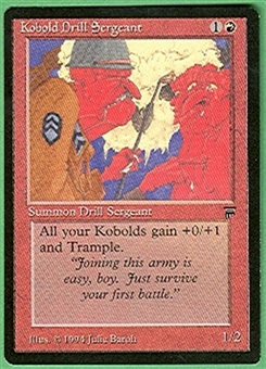 Magic the Gathering Legends Single Kobold Drill Sergeant - NEAR MINT (NM)