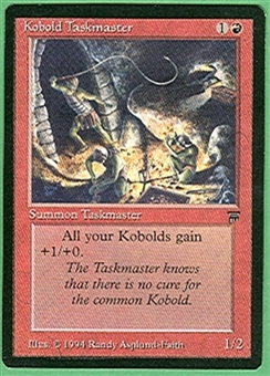 Magic the Gathering Legends Single Kobold Taskmaster - NEAR MINT (NM)