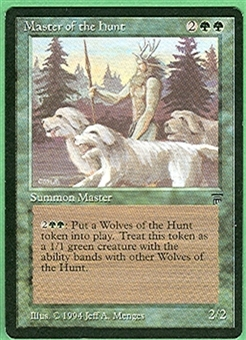 Magic the Gathering Legends Single Master of the Hunt - NEAR MINT (NM)