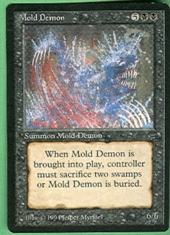 Magic the Gathering Legends Single Mold Demon - NEAR MINT (NM)
