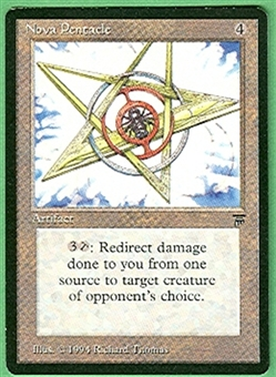Magic the Gathering Legends Single Nova Pentacle - NEAR MINT (NM)