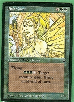 Magic the Gathering Legends Single Pixie Queen - SLIGHT PLAY (SP)