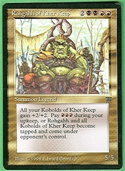 Magic the Gathering Legends Single Rohgahh of Kher Keep UNPLAYED (NM/MT)