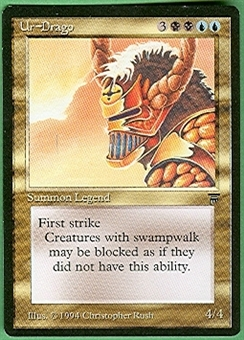Magic the Gathering Legends Single Ur-Drago UNPLAYED (NM/MT)