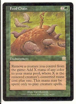 Magic the Gathering Mercadian Masques Single Food Chain UNPLAYED (NM/MT)