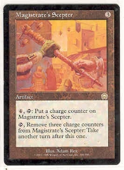 Magic the Gathering Mercadian Masques Single Magistrate's Scepter - NEAR MINT (NM)