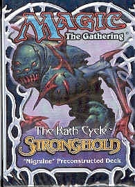 Magic the Gathering Stronghold Migraine Precon Theme Deck