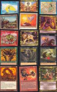 Magic the Gathering Mirage A Complete Set UNPLAYED