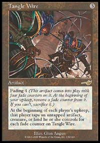 Magic the Gathering Nemesis Single Tangle Wire - NEAR MINT (NM)