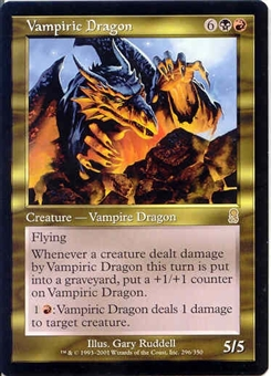 Magic the Gathering Odyssey Single Vampiric Dragon UNPLAYED (NM/MT)