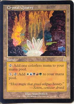 Magic the Gathering Odyssey Single Crystal Quarry - NEAR MINT (NM)