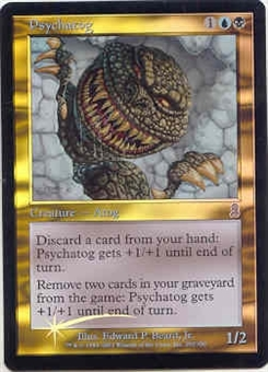 Magic the Gathering Odyssey Single Psychatog FOIL