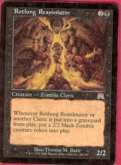 Magic the Gathering Onslaught Single Rotlung Reanimator - SLIGHT PLAY (SP)