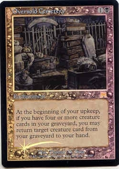 Magic the Gathering Onslaught Single Oversold Cemetery Foil