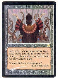 Magic the Gathering Onslaught Single Patriarch's Bidding Foil