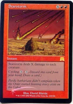 Magic the Gathering Onslaught Single Starstorm Foil