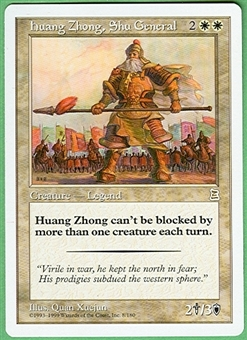 Magic the Gathering Portal 3: 3 Kingdoms Single Huang Zhong, Shu General - NEAR MINT (NM)