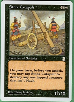 Magic the Gathering Portal 3: 3 Kingdoms Single Stone Catapult - NEAR MINT (NM)