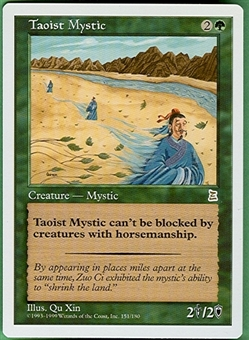 Magic the Gathering Portal 3: 3 Kingdoms Single Taoist Mystic - NEAR MINT (NM)