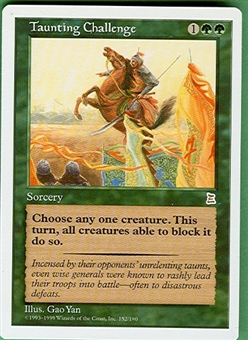 Magic the Gathering Portal 3: 3 Kingdoms Single Taunting Challenge - NEAR MINT (NM)