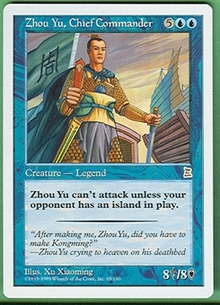 Magic the Gathering Portal 3: 3 Kingdoms Single Zhou Yu, Chief Commander - NEAR MINT (NM)
