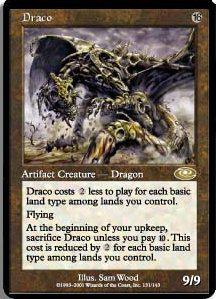 Magic the Gathering Planeshift Single Draco - NEAR MINT (NM)