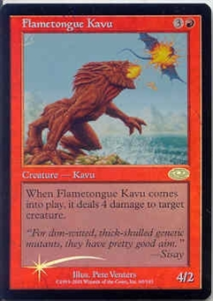 Magic the Gathering Planeshift Single Flametongue Kavu Foil