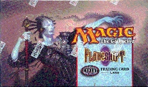 Magic the Gathering Planeshift Precon Theme Deck Box