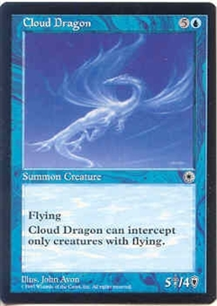 Magic the Gathering Portal 1 Single Cloud Dragon - NEAR MINT (NM)