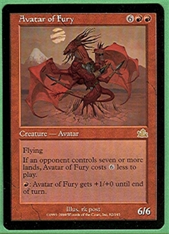 Magic the Gathering Prophecy Single Avatar of Fury - NEAR MINT (NM)