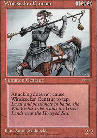 Magic the Gathering Promo Single Windseeker Centaur UNPLAYED (NM/MT)