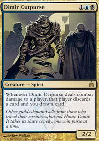 Magic the Gathering Ravnica Single Dimir Cutpurse UNPLAYED (NM/MT)