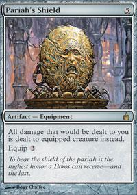 Magic the Gathering Ravnica Single Pariah's Shield - SLIGHT PLAY (SP)