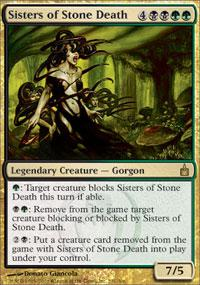 Magic the Gathering Ravnica Single Sisters of Stone Death - NEAR MINT (NM)
