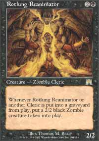 Magic the Gathering Onslaught Single Rotlung Reanimator - NEAR MINT (NM)