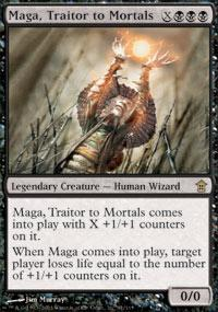 Magic the Gathering Saviors of Kamigawa Single Maga, Traitor to Mortals - NEAR MINT (NM)